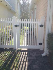 Vinyl PVC Picket Fence