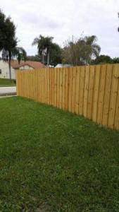 wood fencing company