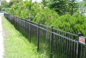aluminum fence installation west palm beach