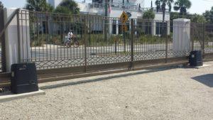 sliding gate operator system