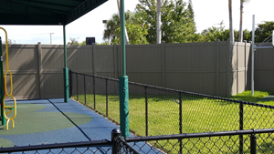 commercial fence installation